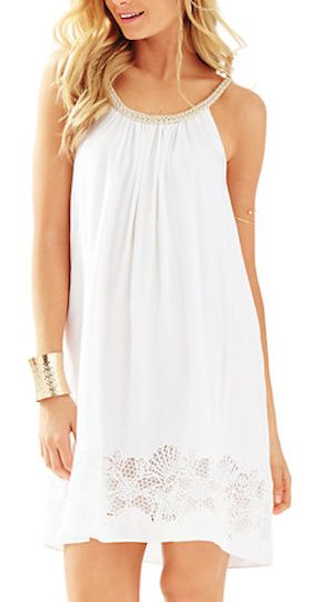 pretty white resort dress - Lilly Pulitzer