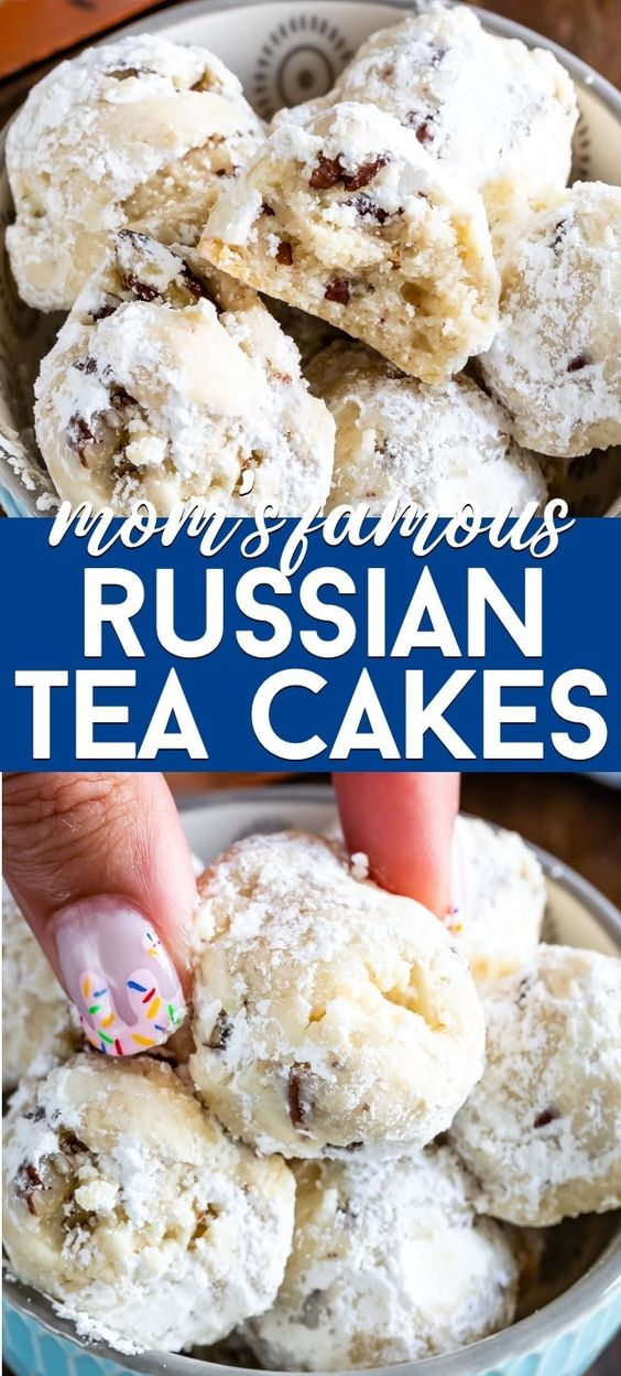 Mom's Russian Teacakes
