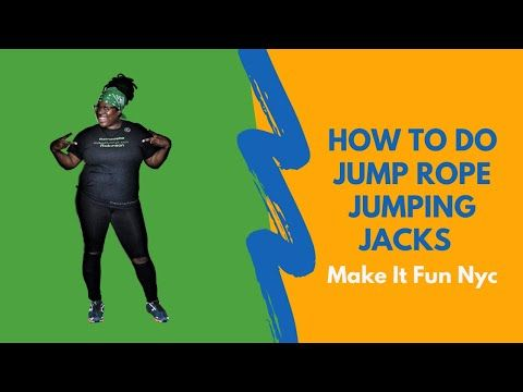 How To Do Jump Rope Jumping Jacks Youtube In 2020 Jump Rope Jumping Jacks Rope