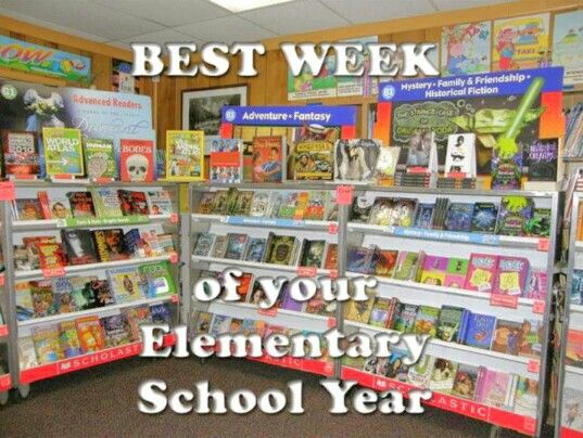 Read just about all the books listed. And they weren't lying, the book fair was the best week of school- even for this child who hated reading.