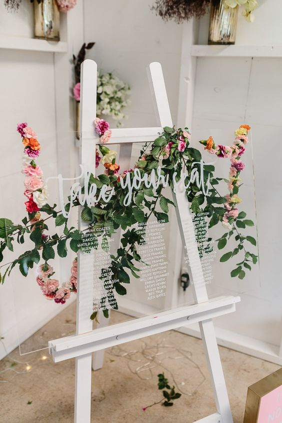 10 Unique Mostly Easy Seating Chart Ideas For Your Wedding