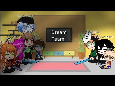 Fandoms Reacts To Dream Team Memes Gacha Club All Credits In Description Youtube Dream Team Teams Memes