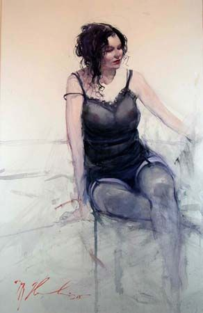 Joseph Zbukvic: A watercolour master.: