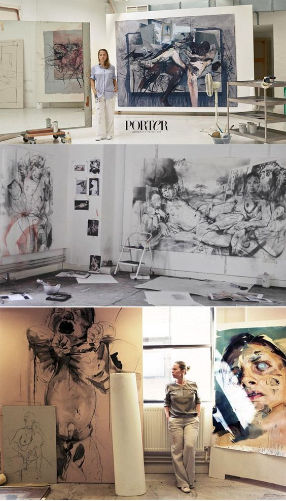 JENNY SAVILLE   http://www.gagosian.com/artists/jenny-saville/