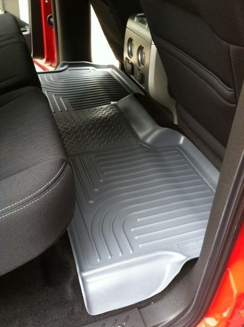 Husky Liners Weatherbeater Custom Auto Floor Liners Front And