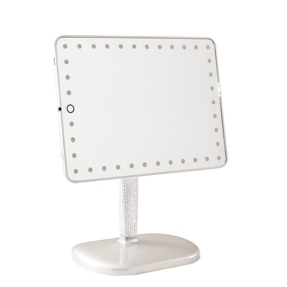 Impressions Vanity Co Touch Pro LED Makeup Mirror with Wireless Bluetooth  Audio Speakerphone  Touch Pro. Impression Vanity Mirror Bluetooth