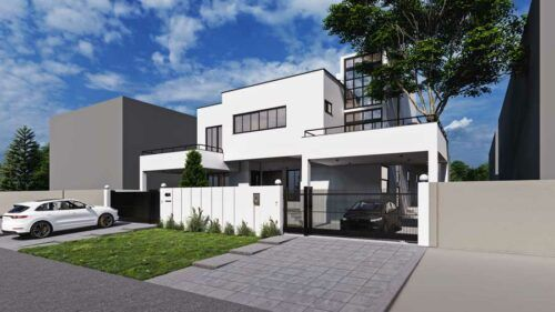 Modern House Interior Design And Construction Building Design Architecture Design