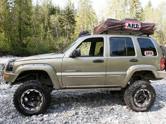 we covered the company 39 s custom created frankenlift jeep liberty suspension kit that has become. Black Bedroom Furniture Sets. Home Design Ideas