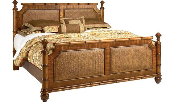 Bedroom Furniture Antigua King Poster Bed Havertys Furniture Furniture