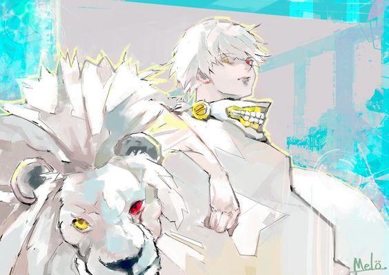 Lion Kaneki (White) by Melo