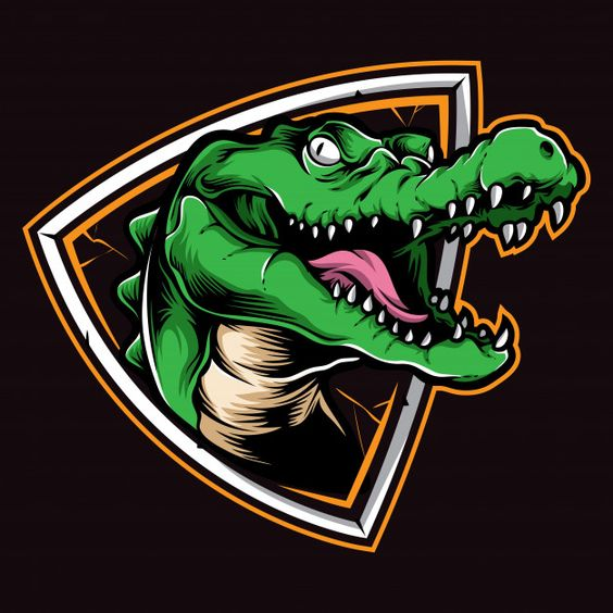 Crocodile logo vector | Premium Vector #Freepik #vector #logo #character #cartoon #animal