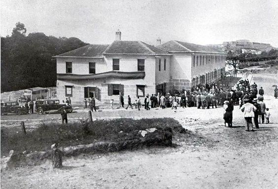 Vivendas sociais (casas baratas) na finca de San Roque