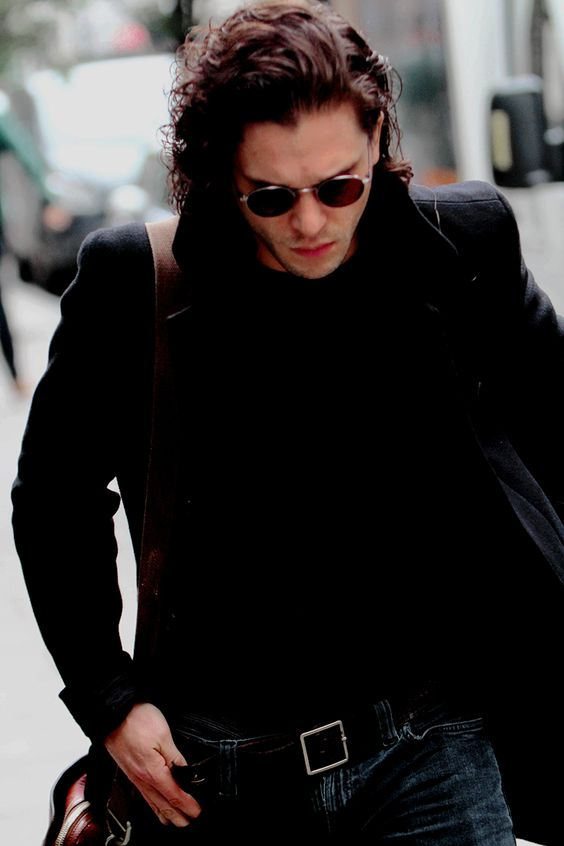 Kit Harington leaving BBC Radio2 studios in London | Jun 3, 2016