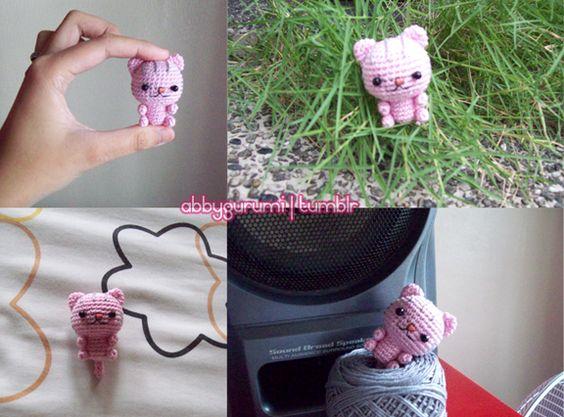 Amigurumi Kitty Mini : Amigurumi Crochet Mini Kitty Cat - Free Pattern FREE ...