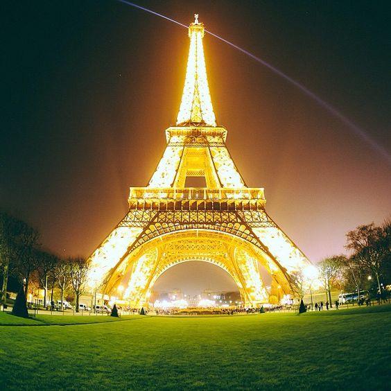 Eiffel Tower // Photo by alifewortheating