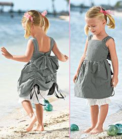 Gigi Designs - Beautiful Children's Clothing from New Zealand. LOVE the back of this dress!