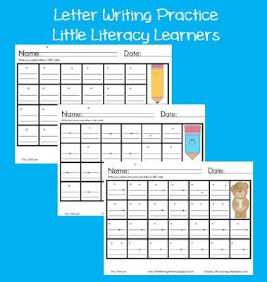 Little Literacy Learners: Letter Formation