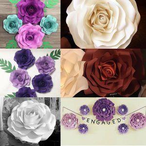 Cara Membuat Kerajinan Tangan Dari Kertas Karton Berbentuk Bunga