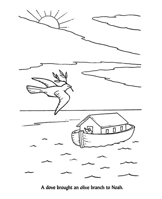 Floods coloring pages