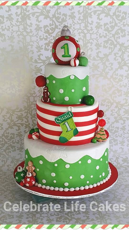 Astounding 13 Christmas Party Cakes With Images Christmas Birthday Cake Funny Birthday Cards Online Eattedamsfinfo