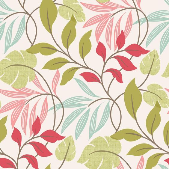 Beacon House 56 sq. ft. Eden Pink Modern Leaf Trail Wallpaper-2535-20629 - The Home Depot Also try Brewster