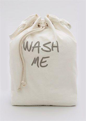 Wash Me Laundry Bag (62cm x 42cm x 26cm)