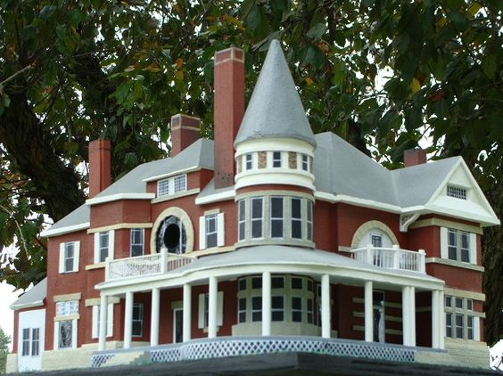 Victorian birdhouses birdhouses and victorian on pinterest for Victorian birdhouse plans free