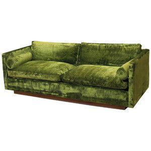 Velvet couch shop home furniture sofas moss green velvet for Moss green sectional sofa