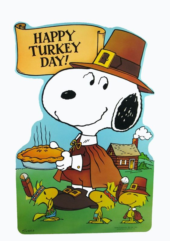 Image result for snoopy thanksgiving