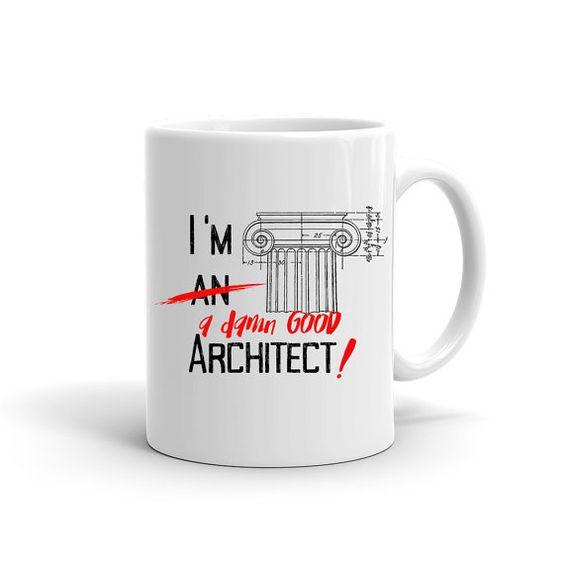 Funny Coffee Mug Gift For Architect Architect By ABitCuckooGifts Etsy Shopp