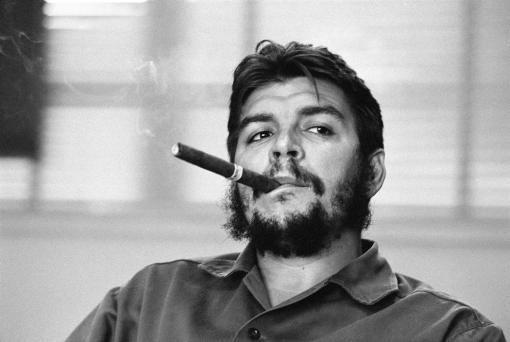 René Burri. Ernesto Guevara (Che) Habana, Cuba, 1963.