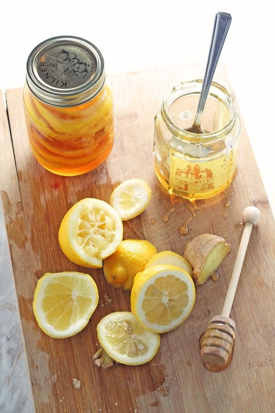 Honey Lemon Ginger Jar – Natural Cold & Flu Remedy
