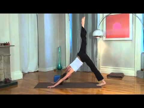 30 minute yoga routine.  Do 3 times a week for 6 weeks and you will have a stronger body!