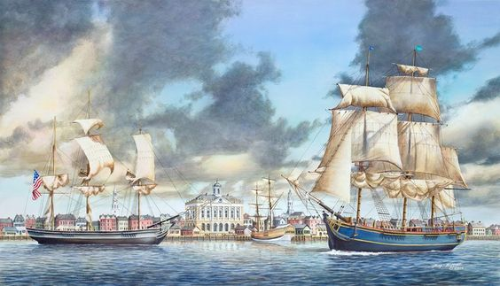 Jim Booth painting of Charleston, SC