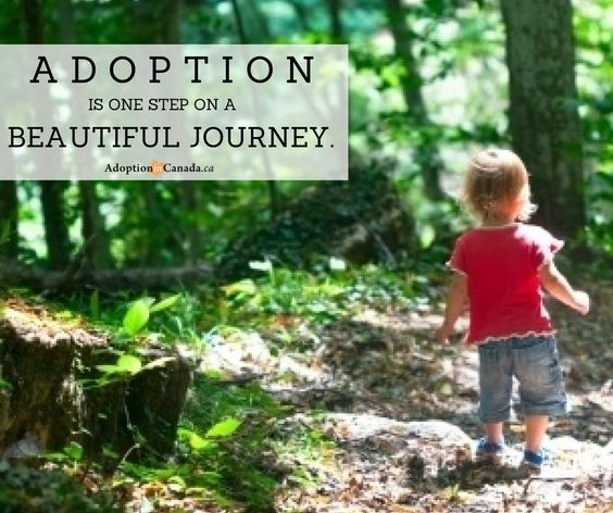 Adoption is not a beginning or an end. It is one step on the beautiful journey of life. #adoption #life