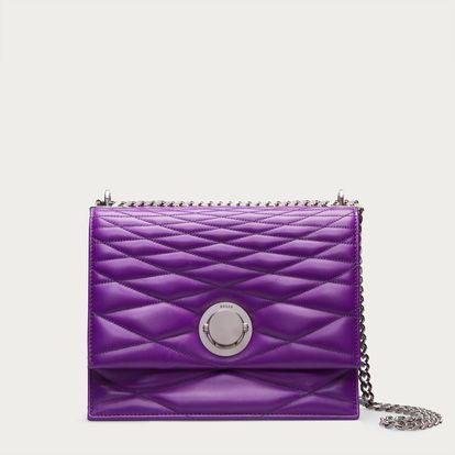 ECLIPSE MEDIUM - PURPLE 15 GOAT Shoulder Bags