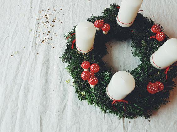 Adventskranz selber machen 7 echt einfache ideen - Ideen adventskranz ...