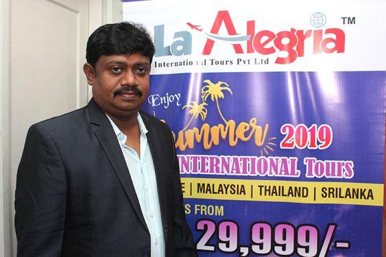La Alegria International Tours Press Meet