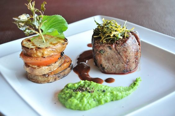 {Botswana Recipe} Thyme Oil–Seared Beef with Pommes Paddazza