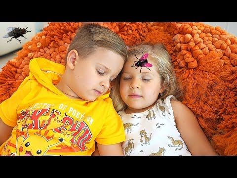 Roma And Diana Vs Pesky Flies And Other Funny Stories By Kids Diana Show Youtube Funny Stories For Kids Funny Kids Funny Stories