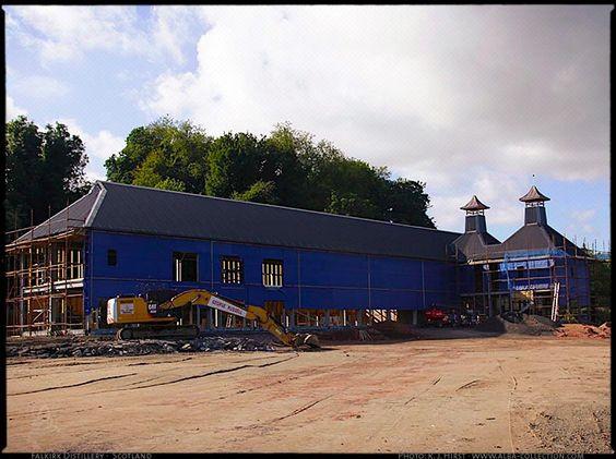 under construction Falkirk Distillery · Polmont · Scotland ...