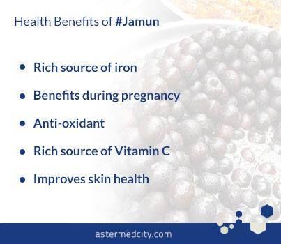 Health Benefits of Jamun.