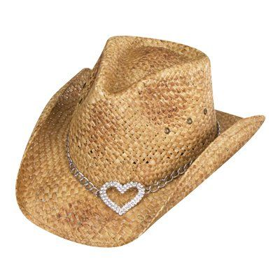 Heart Attack Cowboy Hat - For Ladies Only:)