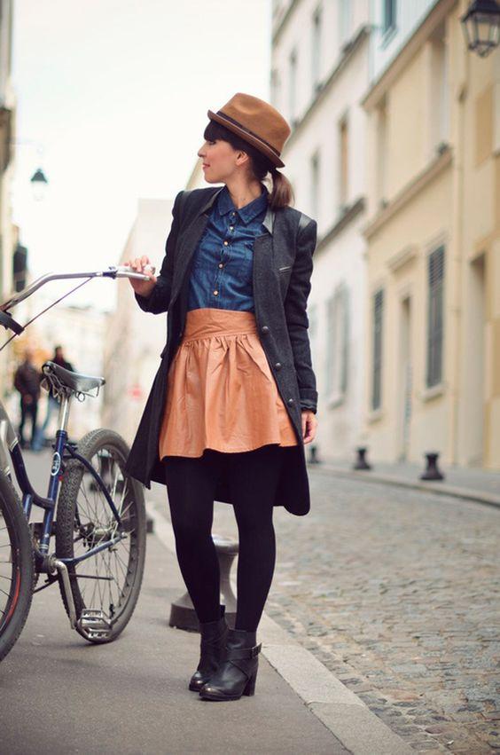 Falda / Skirt . Invierno http://fashionbloggers.pe/raisa-hurtado/breaking-rules-faldas-en-invierno