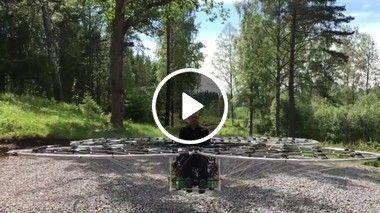 Bonequinho dentro de um drone!!