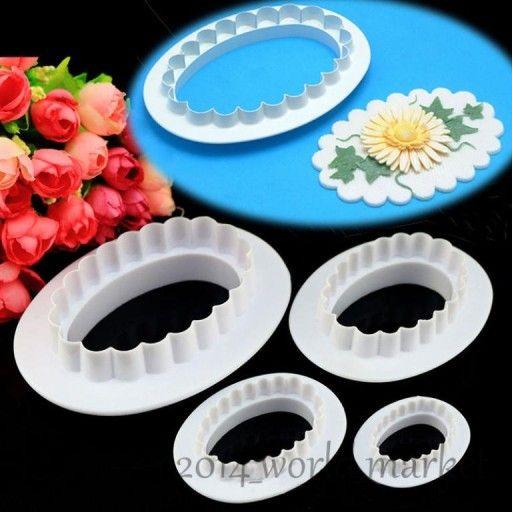 Falbanki Do Dekoracji Masy Cukrowej Owalne Zestaw 5998589837 Oficjalne Archiwum Allegro Fondant Cake Decorating Fondant Cake