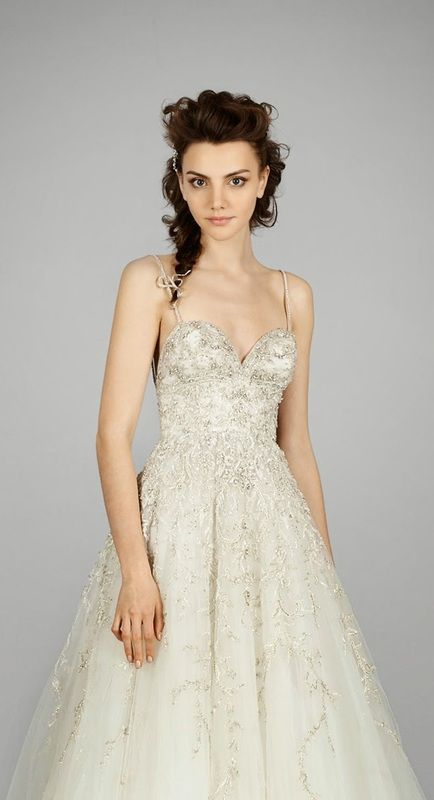 latest lazaro bridal collection gorgeous wedding dresses