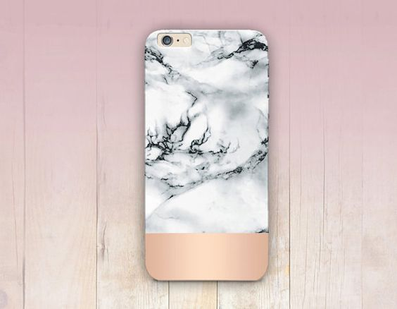 ROSE GOLD GRADIENT MARBLE PRINT PHONE CASE (Colours can be a slightly different due to printing and different screen settings )  IT IS A PRINTED PLASTIC