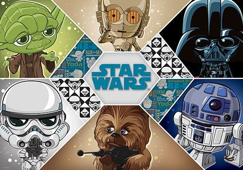 Star Wars Large Size Wallpaper Mural For Boy S Bedroom Kids Room Wall Decoration Ideas Express And Kids Room Murals Kids Room Wall Decor Star Wars Wall Mural