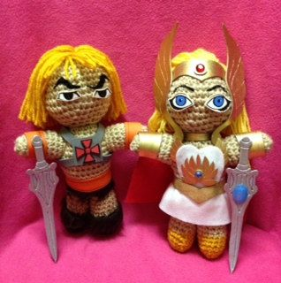 2+NERD+DOLLZ+Amigurumi+Crochet+dollhomemade+by+NerdDollz+on+Etsy,+$62.99